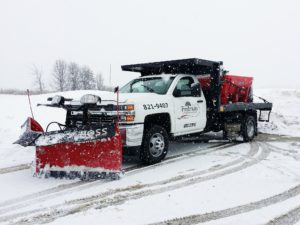 Snow Plow Removal
